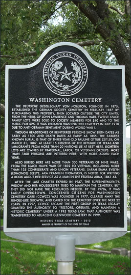 Texas Historical Marker 2012